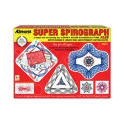 Super Spirograph Drawing Set 50th Anniversary Commemorative Edition