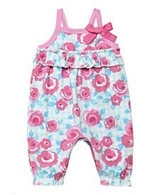 Baby Girls Floral Print Romper