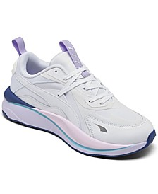 Women's Rs-Curve Solar Casual Sneakers from Finish Line