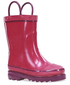 Toddler, Little and Big - Boy and Girl Firechief Rain Boots