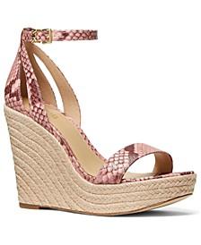 Kimberly Wedge Sandals