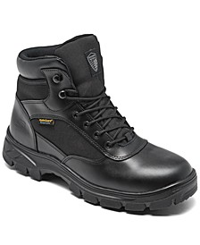 Men's Work Relaxed Fit- Wascana - Benen WP Tactical Boots from Finish Line