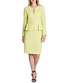 Peplum Skirt Suit
