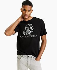 Men's Camo Logo Graphic T-Shirt