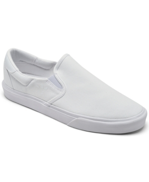 Adidas Originals ADIDAS ORIGINALS MEN'S COURT RALLYE SLIP-ON CASUAL SNEAKERS FROM FINISH LINE