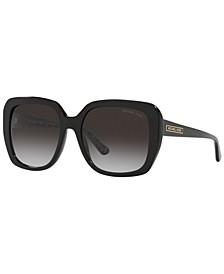 Women's Manhasset Sunglasses, MK2140 55