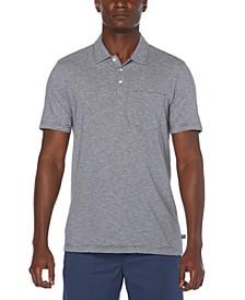 Men's Feeder Stripe Pocket Polo Shirt
