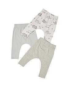 Baby Boy Leggings, Pack of 3