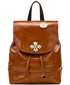 Seluci Leather Backpack
