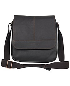 Colombian Leather Tablet Day Bag