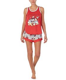 Mickey & Friends Tank Top & Shorts Pajama Set