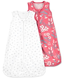 Baby Girls 2-Pack Sleep Bags