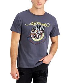 Men's Retro Bulldog Logo Graphic T-Shirt