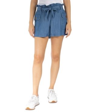 Juniors' Paperbag Cargo Shorts