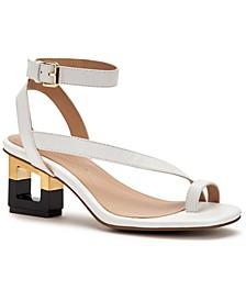 Women's Coreena Square-Heel Dress Sandals, Created for Macy's