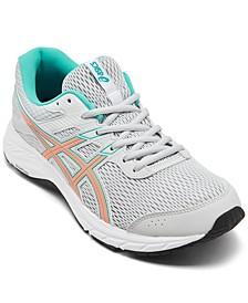 Women's GEL-Contend 6 Wide Width Running Sneakers from Finish Line