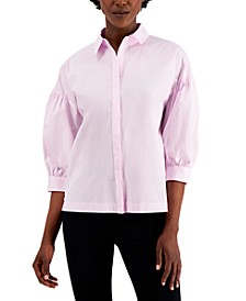 Puff-Sleeve Blouse, Created for Macy's