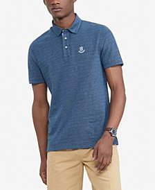Men's Custom-Fit TH Luxe Jacques Dot Polo