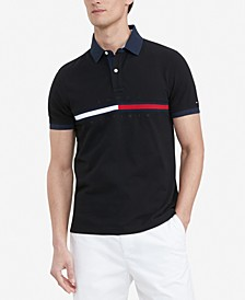 Men's Big & Tall Classic-Fit Tanner Logo Polo