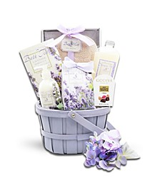 Country Lavender Spa Gift Basket