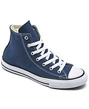 Navy Blue Converse - Macy's