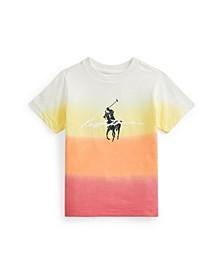 Toddler Boys Dip-Dyed Jersey Graphic T-shirt