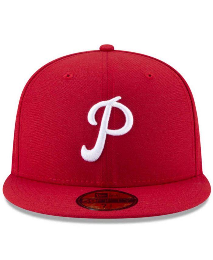 New Era Philadelphia Phillies 100th Anniversary Patch 59FIFTY Cap & Reviews - MLB - Sports Fan Shop - Macy's