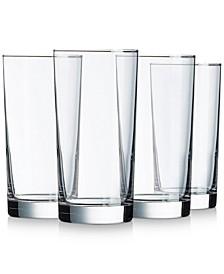 Aristocrat 15.5oz Cooler Glasses, Set of 4
