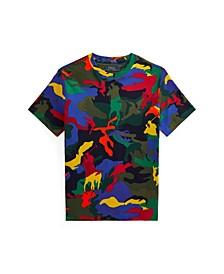 Big Boys Polo Pony Camouflage T-shirt