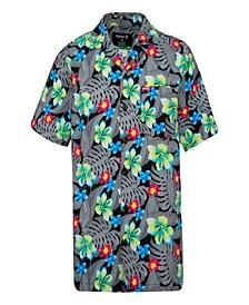Big Boys Hawaiian Button Up Shirt