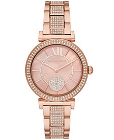 Women's Abbey Rose Gold-Tone Stainless Steel Bracelet Watch 36mm