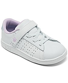 Toddler Girls Court Casper Stay-Put Casual Sneakers from Finish Line