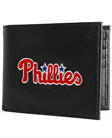 Rico Industries Philadelphia Phillies Black Bifold Wallet