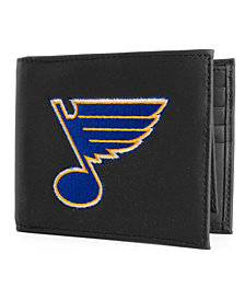 Rico Industries St. Louis Blues Black Bifold Wallet
