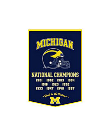 Winning Streak Michigan Wolverines Dynasty Banner