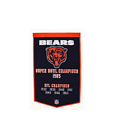 Winning Streak Chicago Bears Dynasty Banner