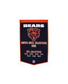 Winning Streak Chicago Bears Dynasty Banner