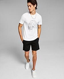 Men's Geometric Skull T-Shirt
