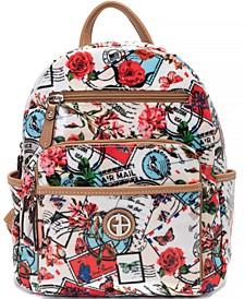 Postcard Medium Backpack, Created for Macy's