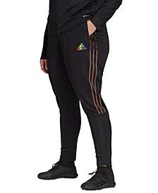 Plus Size Tiro Pride Track Pants