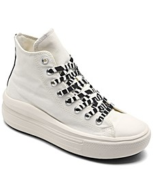 Women's Archive Print Chuck Taylor All Star Move Platform High Top Casual Sneakers from Finish Line