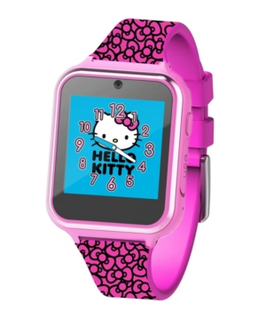 Hello Kitty Kid's Touch Screen Pink Silicone Strap Smart Watch