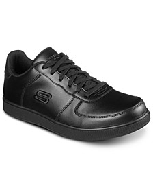 Men's Work- Vibsie - Vimerny Slip-Resistant Slip-On Work Sneakers from Finish Line