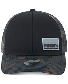 Men's Camo Snap-Back Cap