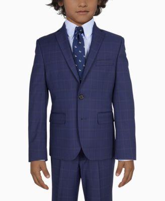 로렌 랄프로렌 Lauren Ralph Lauren Big Boys Sport Coats,Dark Blue