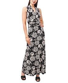 Batik Tie-Dyed Maxi Dress