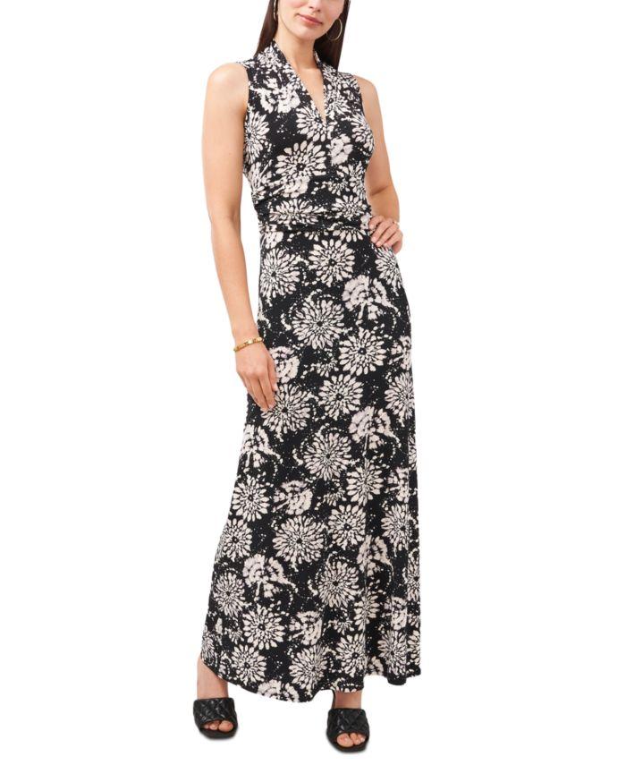 Vince Camuto Batik Tie-Dyed Maxi Dress & Reviews - Tops - Women - Macy's