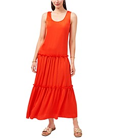 Tiered Sleeveless Maxi Dress