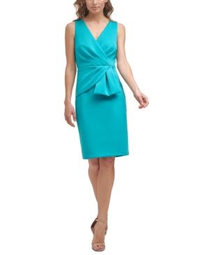 Asymmetrical Draped-Front Dress