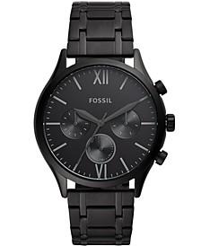 Men's Fenmore Multifunction Black Bracelet Watch 44mm